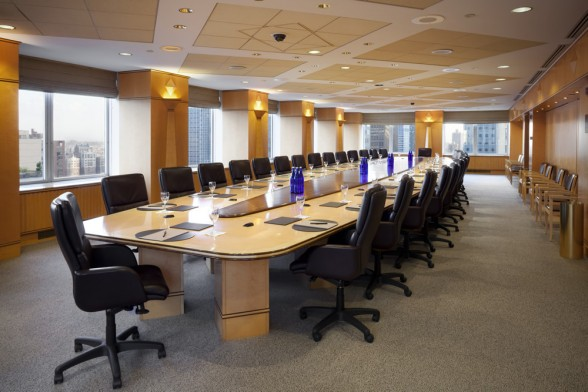 Executive-Board-Room-with-a-48-foot-long-conference-table-that-comfortably-seats-40-588x392